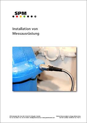 Installation von Messausrüstung